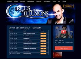 Homepage von Zirkus der Illusionen