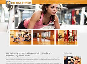 Fitnesscenter Homepage