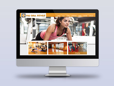 Referenz Webdesign Fitnessstudio