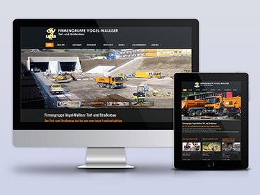 Referenz Website Bauunternehmen