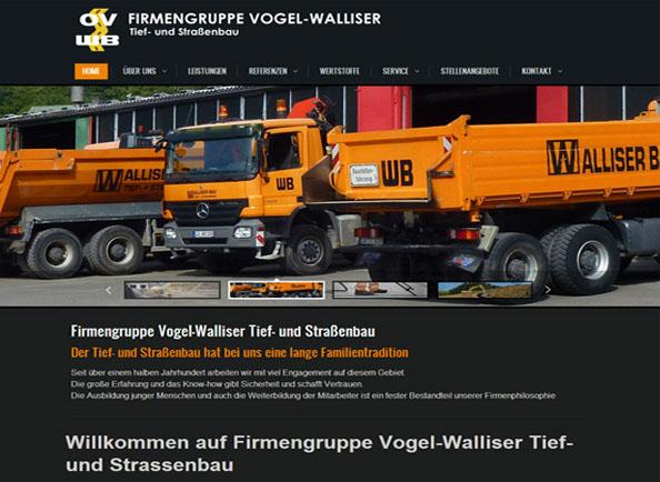 Webprojekt Baufirma