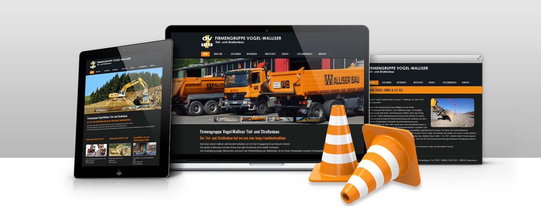 Corporate Website Koblenz